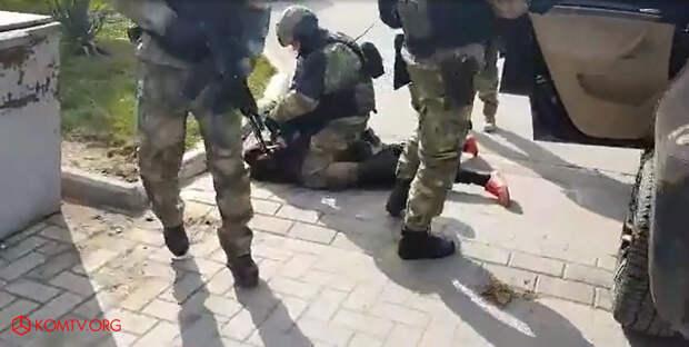 Стали известны подробности задержания преступной группировки в Бахчисарае