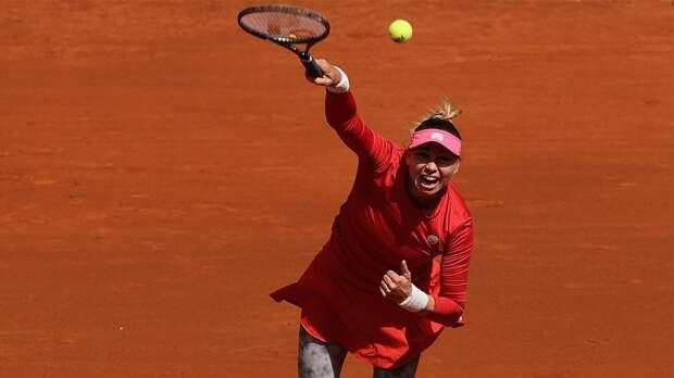 Звонарева проиграла Плишковой в 1/8 финала турнира в Риме