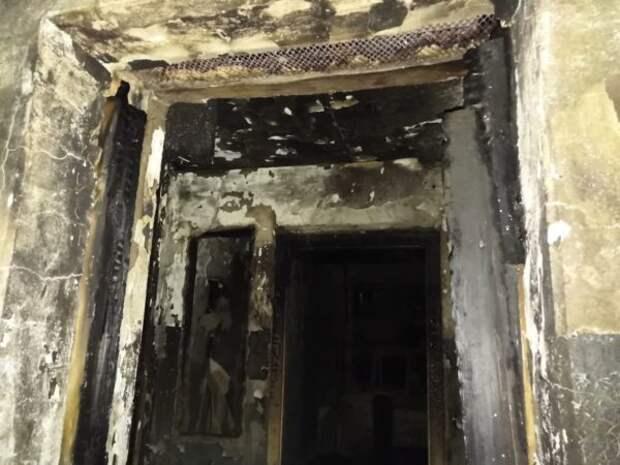 В Кировграде на ул. Дзержинского произошел пожар