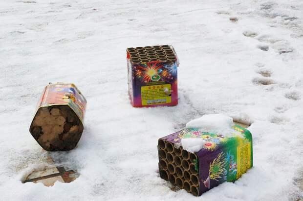 В Госдуме предложили запретить запуск фейерверков возле жилых домов и больниц