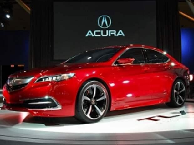 Седан Acura TLX появится в продаже в конце года