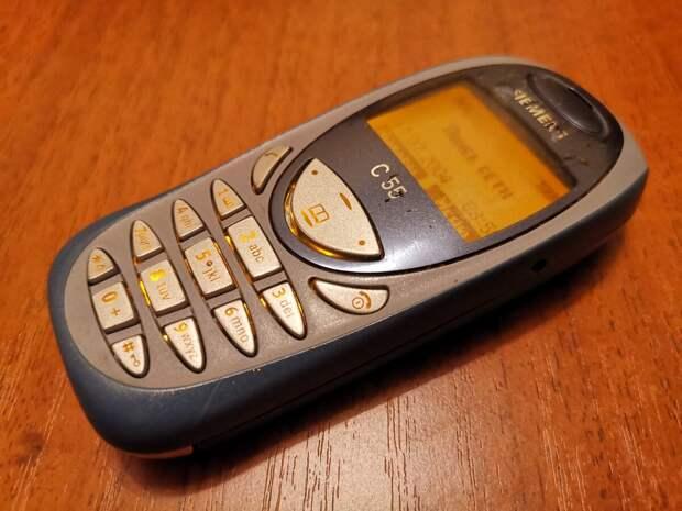 Мой первый телефон - Siemens C55