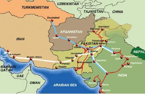 Газопровод TAPI принесет Афганистану приличный доход