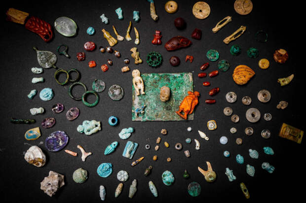 Волшебные находки в древнем городе. \ Фото: thesun.co.uk.