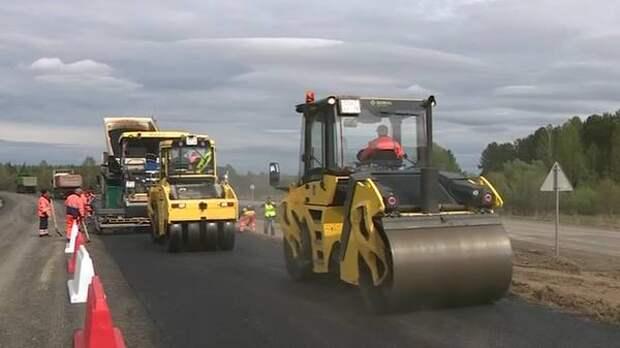 Участок автодороги Камаевка-Асино-Первомайское будет отремонтирован с опережением срока