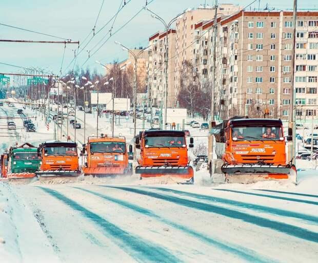 Две трети месячных осадков выпало в Ижевске за новогодние праздники