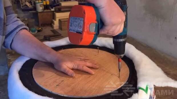 Как сделать пуф из старой автомобильной покрышки