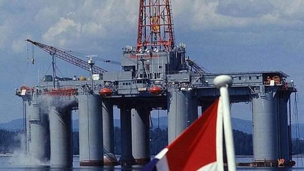 Сокращает добычу нефти Норвегия