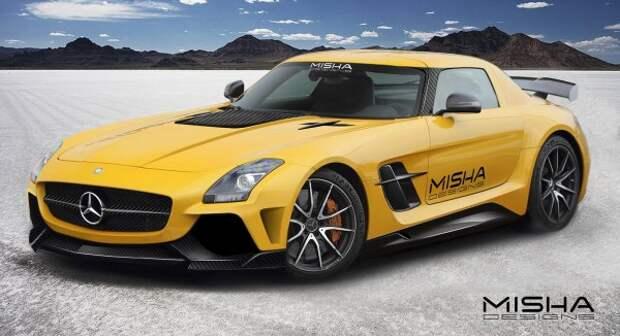 Mercedes-Benz SLS AMG  в новой версии от Misha Design