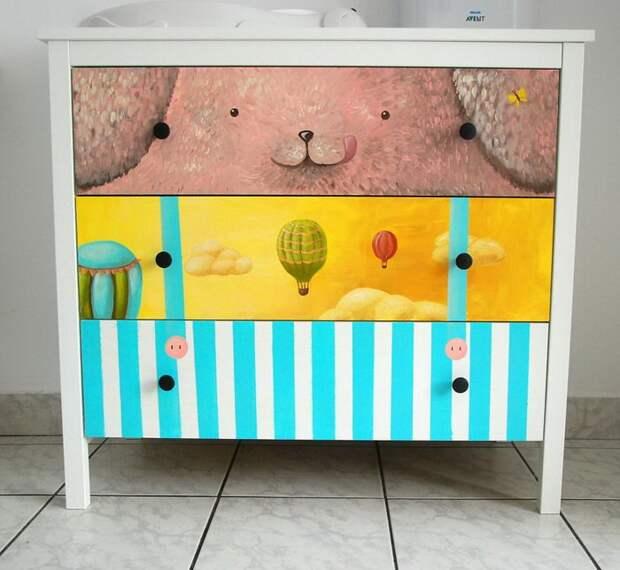 детская мебель в виде кошки