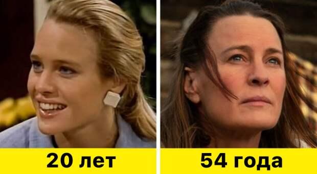 """15. Робин Райт - """"Санта-Барбара"""" (1984–1993) и """"Земля"""" (2021)"""