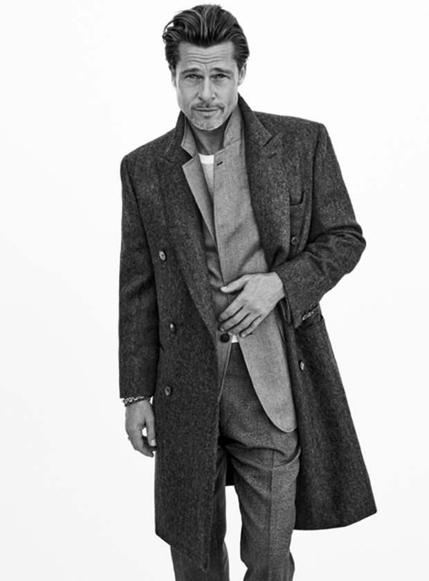 Джентльмен свеж: Брэд Питт в новой рекламной кампании Brioni