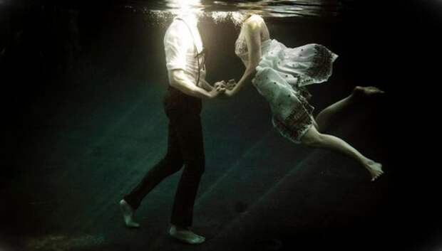 Подводная любовь