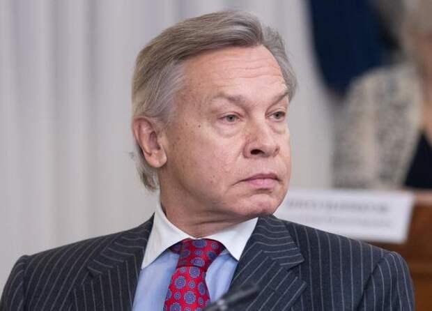 Пушков назвал пустой угрозой заявления Киева о «развороте на Китай»