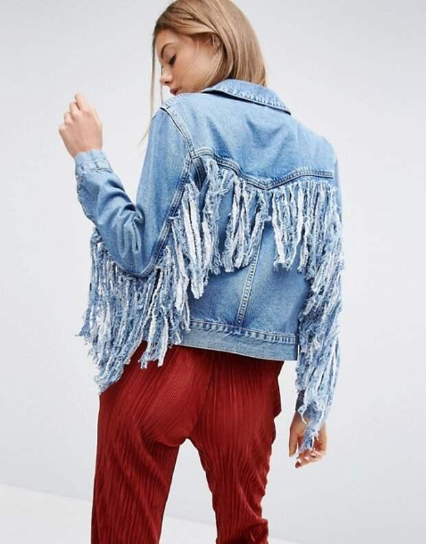 Новогодние джинсовки (подборка)