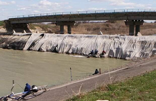 В Крым просачиваются опасные воды Днепра с Украины