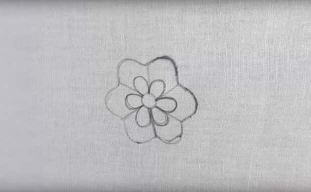 Потрясающая вышивка с помощью формочки для печенья