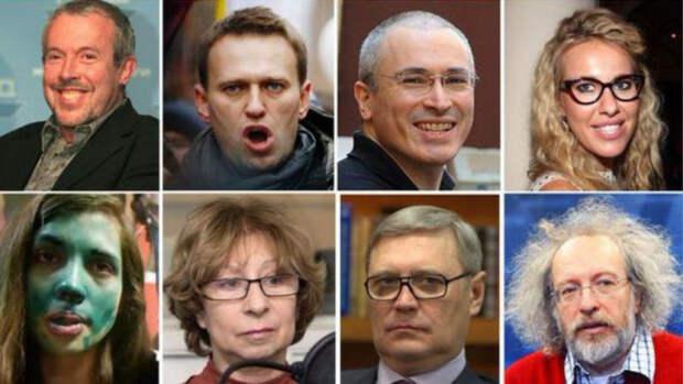 Кто их «крышует»? О тех, кто потворствует прозападной либеральной оппозиции !
