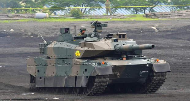 Японский танк Type 10 впервые показали изнутри