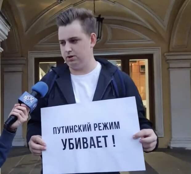 Еще один малыш, который голодает из-за Путина