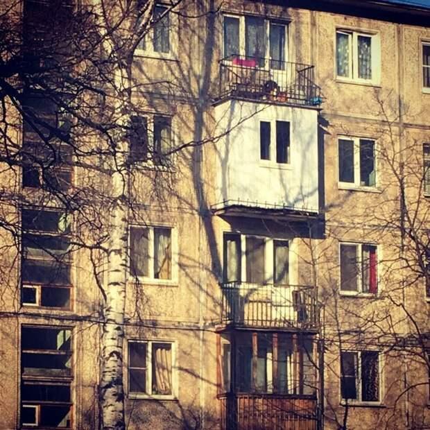 7. Когда каждый квадратный метр на вес золота архитектура, иностранцы, прикол, россия, юмор