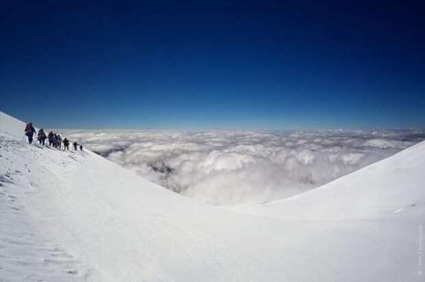 Восхождение на Эльбрус (32 фото)