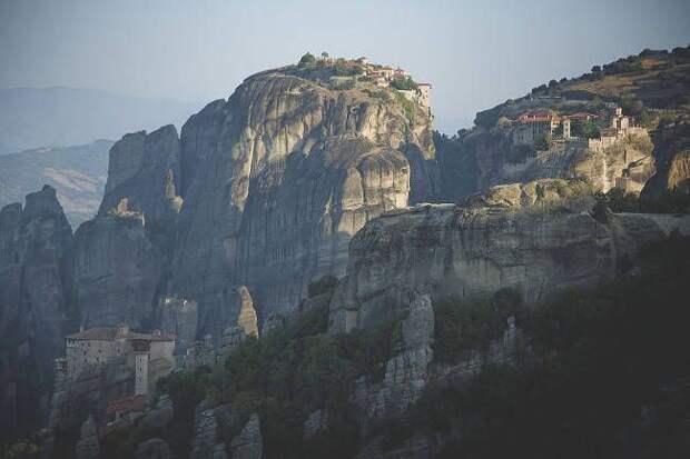 Монастыри Метеоры греция, Метеора, монастыри