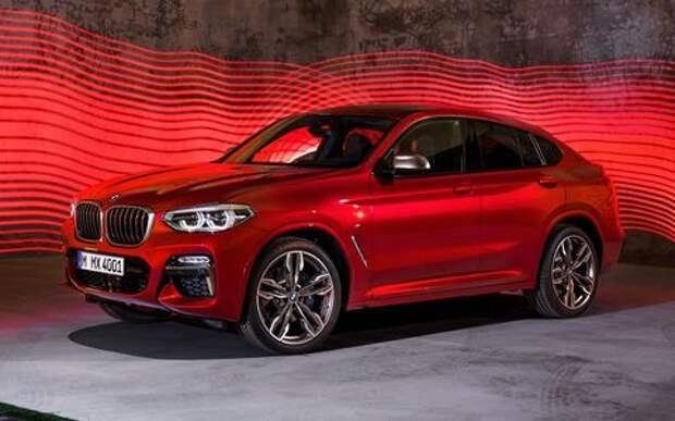 BMW объявила цены на новый Х4 в России