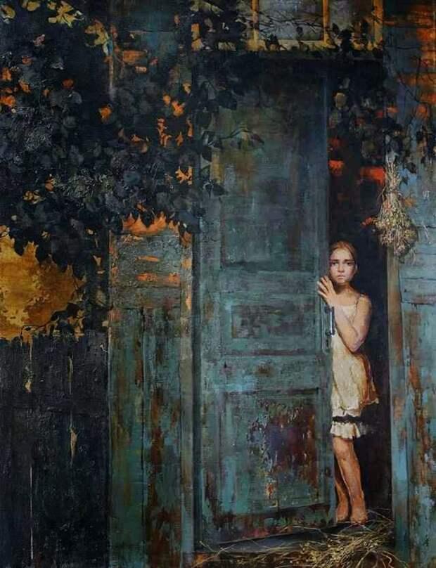 Украинская художница. Eliza Mamardashvili