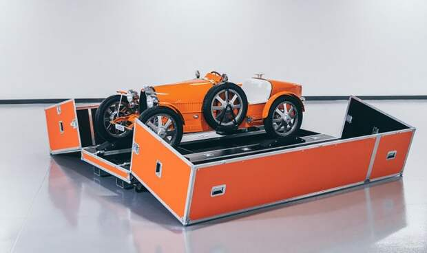 Bugatti готовит к выпуску уменьшенную версию своего легендарного гоночного родстера Type 35