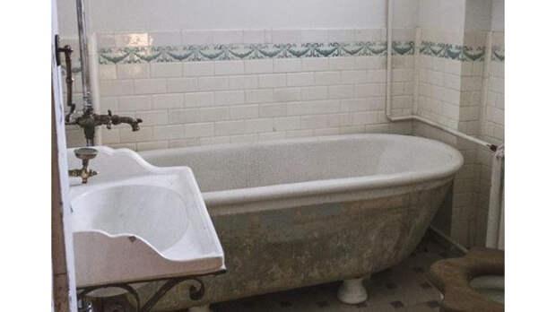 Ванные комнаты из прошлого