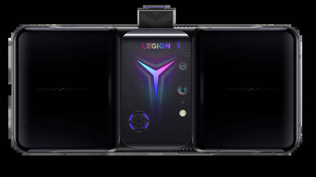 Lenovo представила игровой смартфон Legion Phone Duel 2 с горизонтальным экраном