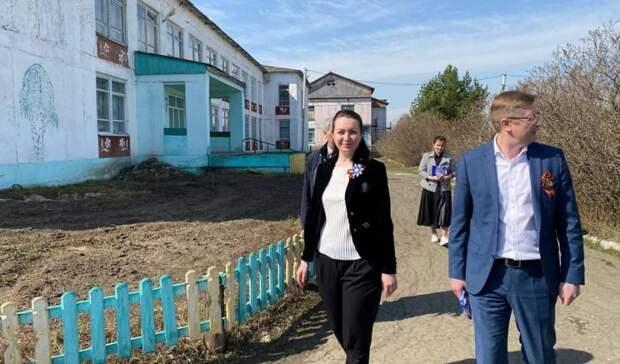 ВЗнаменском районе Оксана Фадина приняла участие вмероприятиях коДню Победы