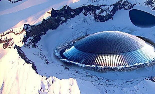 Тайные вещи, которые нашли в  Антарктиде