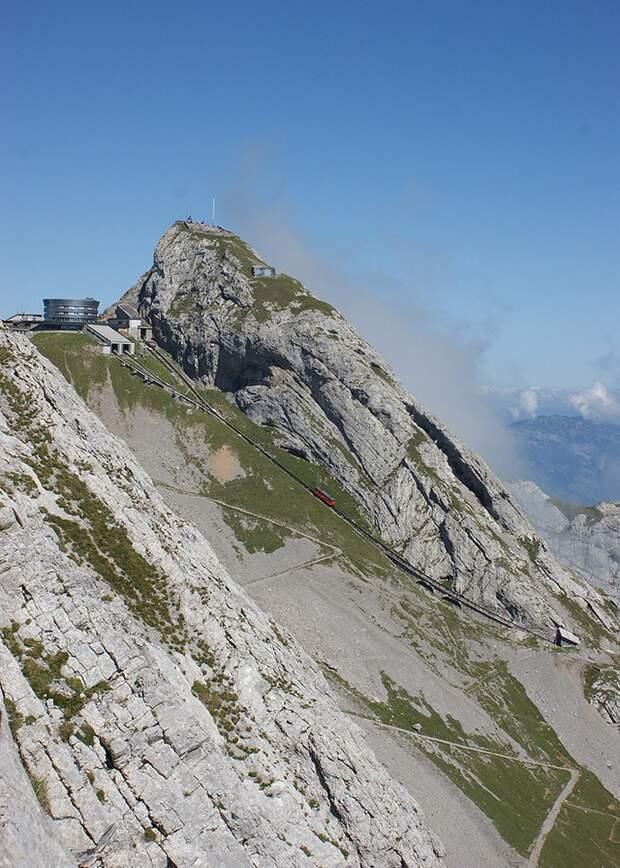 Chbahns47 Топ 5 самых необычных железных дорог Швейцарии