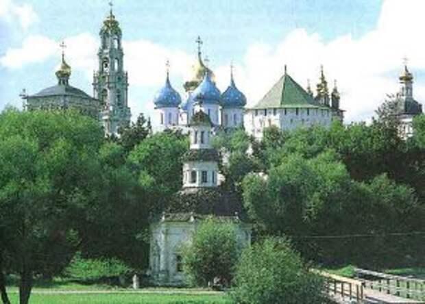 Панорама Троице-Сергиевой лавры