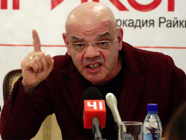 А что там Райкин наехал на родной режим?