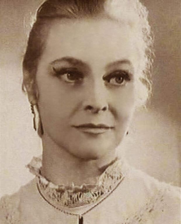 Любимые советские актрисы. Татьяна Пилецкая.