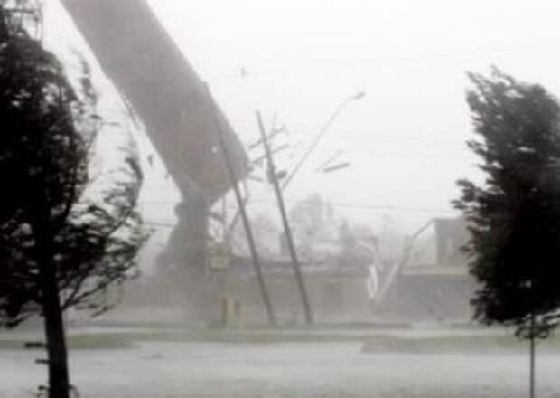 На Краснодар надвигается мощный шторм