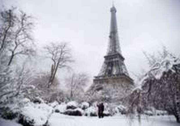 «Большой холод» в Париже