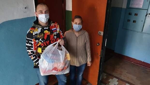 Квадроциклисты Подольска передали продуктовые наборы 7 нуждающимся семьям