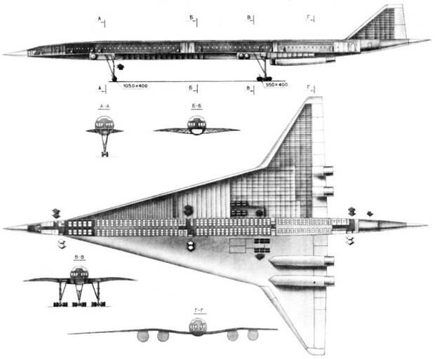Схема самолета. | Фото: LiveJournal.