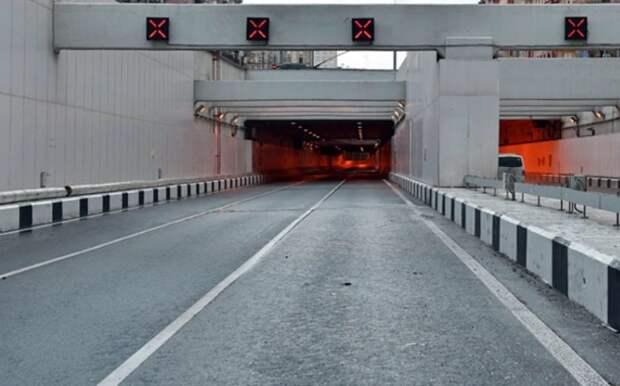 Движение по тоннелю на Волоколамке восстановлено