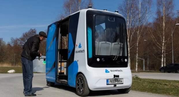 На эстонских дорогах появятся беспилотные шаттлы на водороде
