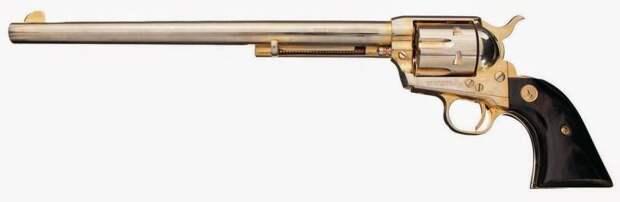 Нед Бантлайн, человек и револьвер