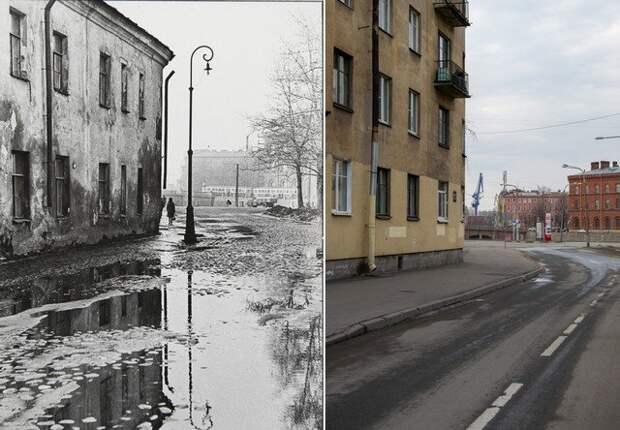 Улица Циолковского1967 и 2021