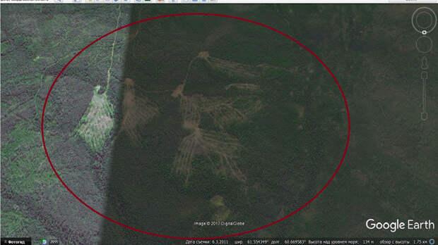 В районе перевала Дятлова обнаружили гигантские сооружения каменного века. ФОТО, ВИДЕО