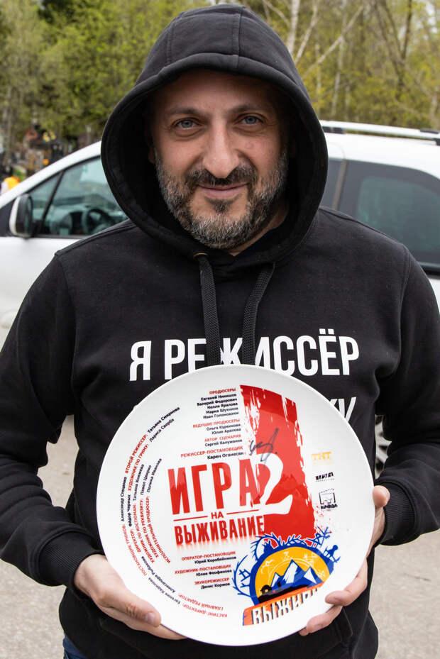 Карен Оганесян приступил к съёмкам продолжения сериала «Игра на выживание»