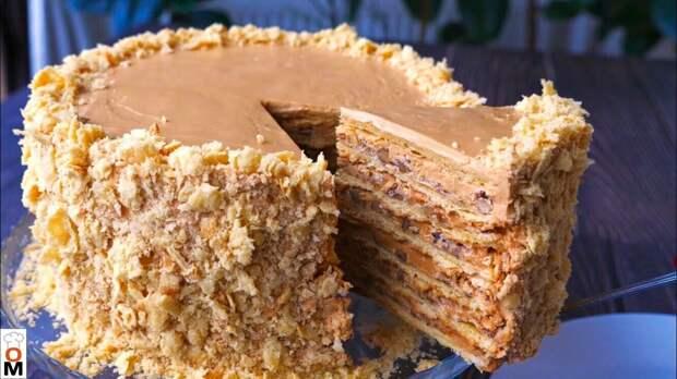 """Торт «Наполеон"""" по-новому. Вкуснейший!"""