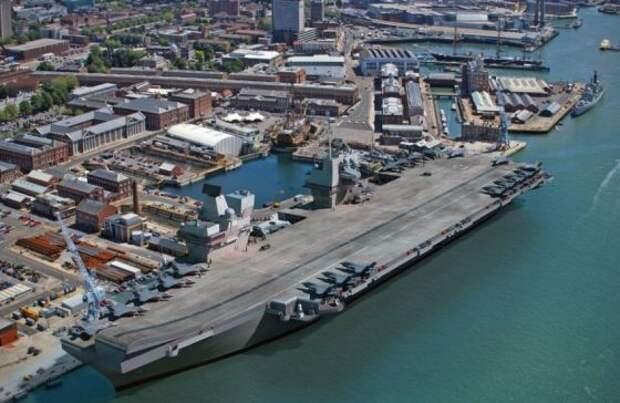 Новый британский авианосец Queen Elizabeth будет спущен на воду 4 июля